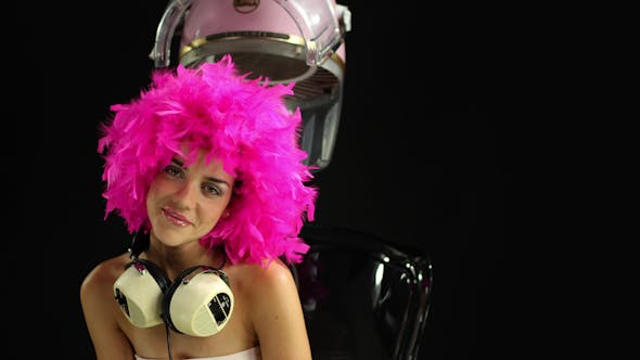 Disco Hairstyle Retro Fashion Burlesque 1 By Dubassy Videohive