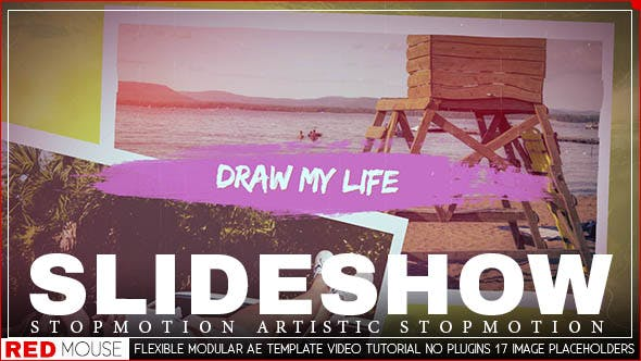 Draw My Life Stop Motion Slideshow By Red Mouse Videohive
