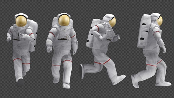 Astronaut - Walk And Run Animations (4-Pack) by se5d ...