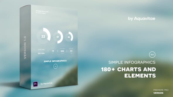 Simple Infographics I MOGRT for Premiere Pro - VideoHive product image