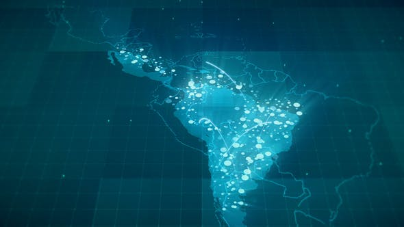 America Map Hd.Globalization Latin America Map Hd By Rodionova Videohive
