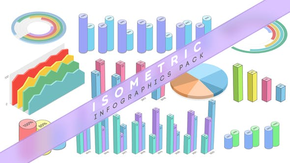 Isometric Infographics Pack - VideoHive product image