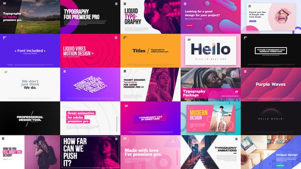 after effects title templates from videohive