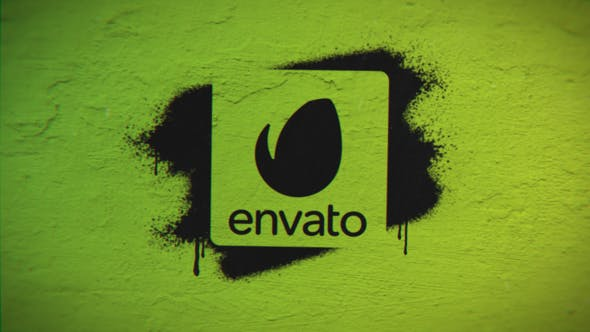 Quick Spray Logo Reveal - VideoHive product image