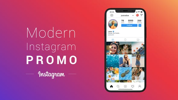 Modern Instagram Promo - VideoHive product image