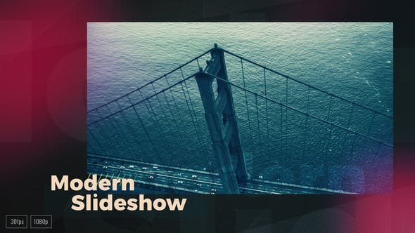 Kinetic Modern Slideshow - VideoHive product image