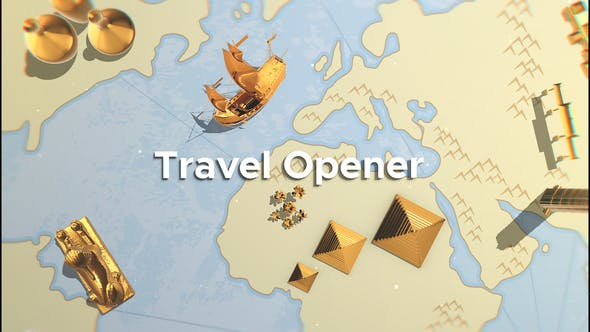 Travel Opener - VideoHive product image