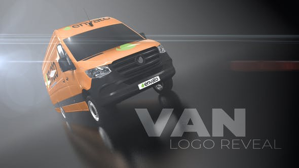 Van Logo Reveal - VideoHive product image