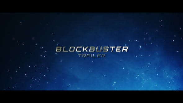 Blockbuster Trailer - VideoHive product image